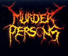 Murder Persons - Logo