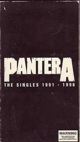 Pantera - The Singles 1991-1996