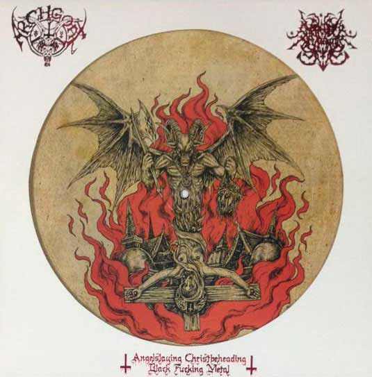 Surrender of Divinity / Archgoat - Angelslaying Christbeheading Black Fucking Metal