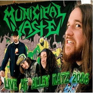 Municipal Waste - Live at Alley Katz