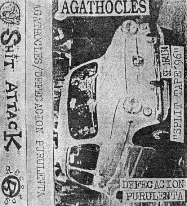 Agathocles - Split Tape'96
