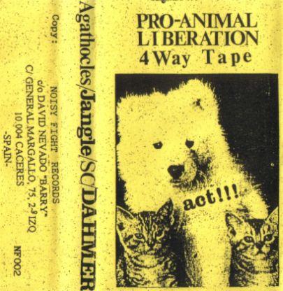 Agathocles / Dahmer - Pro-Animal Liberation