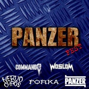 Panzer / Nervochaos / Woslom / Forka / Command6 - Panzer Fest
