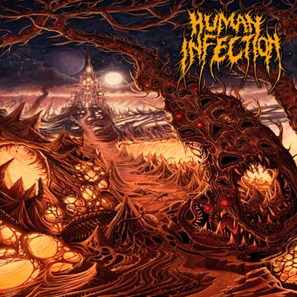 Human Infection - Curvatures in Time