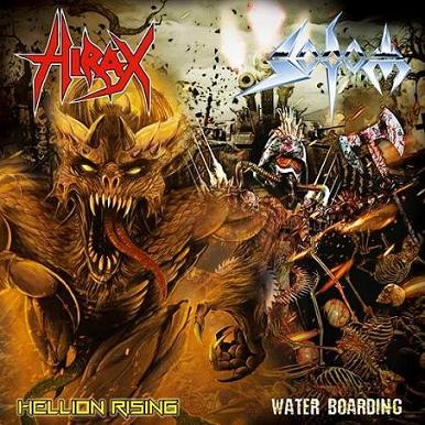Sodom / Hirax - Hellion Rising / Water Boarding