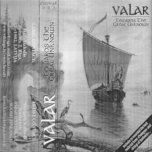 Valar - Towards the Great Unknown