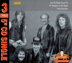 Saxon - And the Bands Played On (CD single)