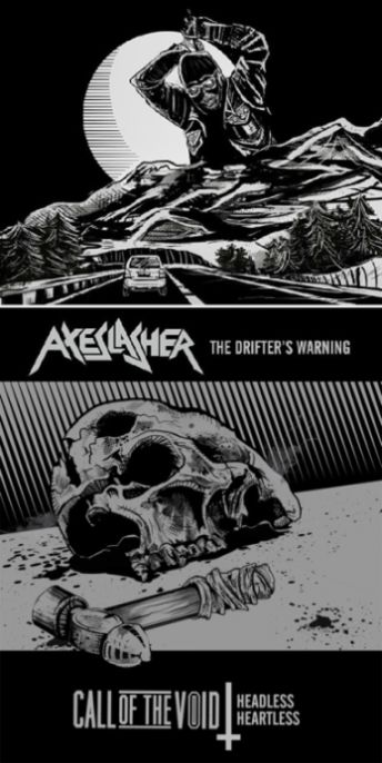 Axeslasher - The Drifter's Warning / Headless Heartless