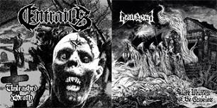 Graveyard / Entrails - Entrails / Graveyard