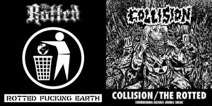 Collision / The Rotted - Collision / The Rotted