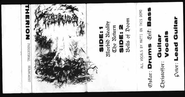 Therion - Paroxysmal Holocaust (Promo Tape 1989)