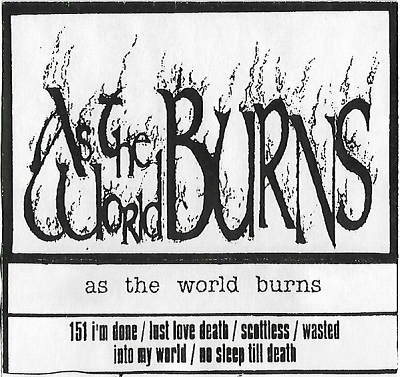 As the World Burns - Demo