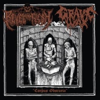Grave Wax / Revel in Flesh - Corpus Obscuria