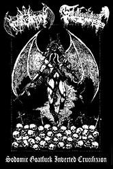 Nihil Domination / Goatbaphomet - Sodomic Goatfuck Inverted Crucifixion