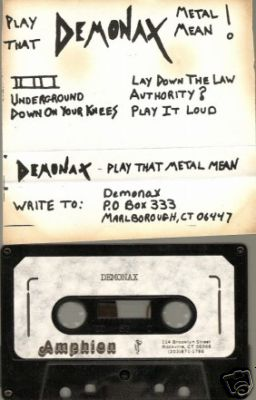 Demonax - Play That Metal Mean