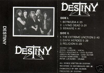 Destiny - Demo 1986