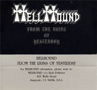 Hellhound - From the Ruins of Yesterday