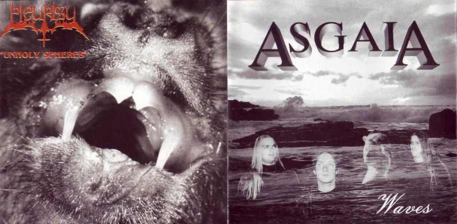 Asgaia / Pleurisy - Unholy Spheres / Waves