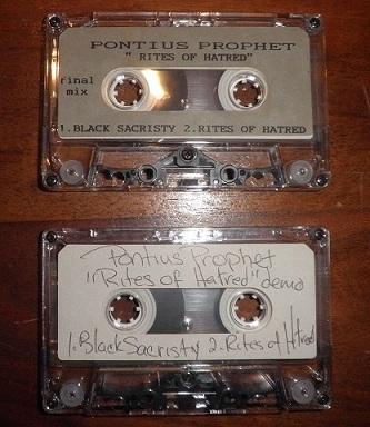Pontius Prophet - Rites of Hatred