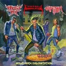 Total Annihilation / Torment Tool / Traitor - Southern Devastation