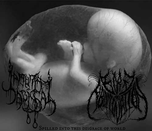 Lamúria Abissal / Born an Abomination - Spilled into This Disgrace of World