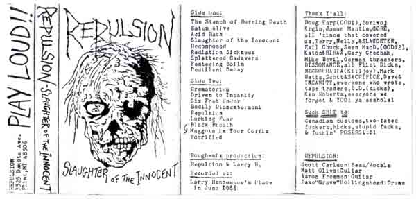 Repulsion - Slaughter of the Innocent