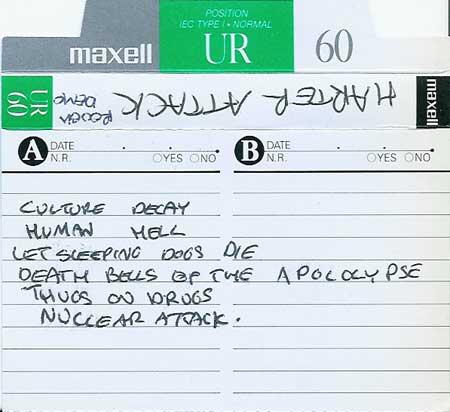 Harter Attack - Demo 1988
