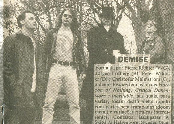 Demise - Photo