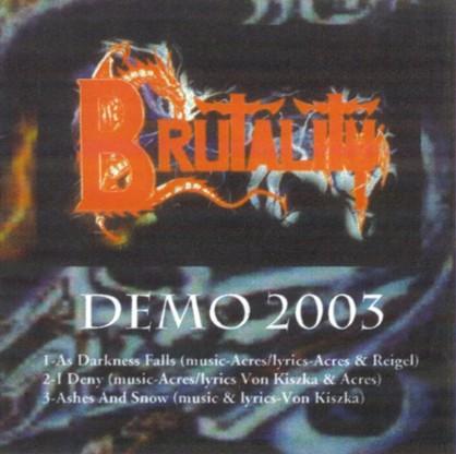 Brutality - Demo 2003