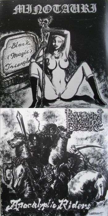 Reverend Bizarre / Minotauri - Black (Magic) Triangle / Apocalyptic Riders