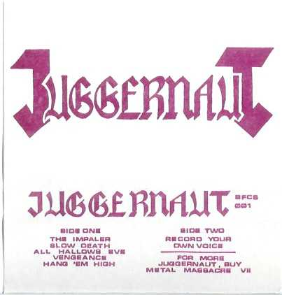 Juggernaut - Demo I
