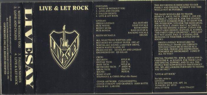 Livesay - Live & Let Rock
