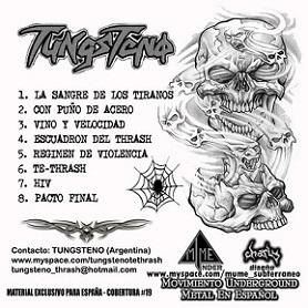 Tungsteno - Tungsteno #19 M.U.M.E.