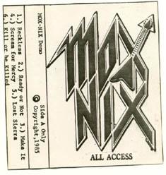 Mox Nix - All Access
