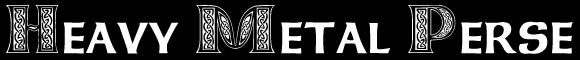 Heavy Metal Perse - Logo