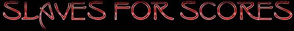 Slaves for Scores - Logo