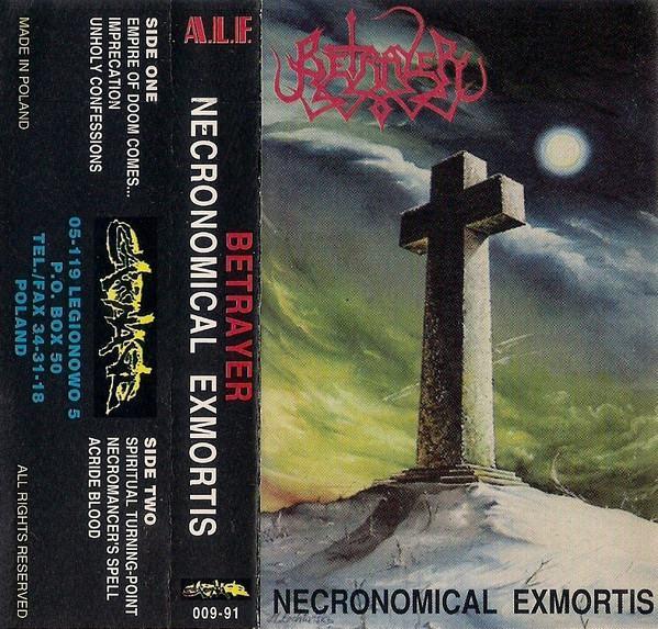 Betrayer - Necronomical Exmortis