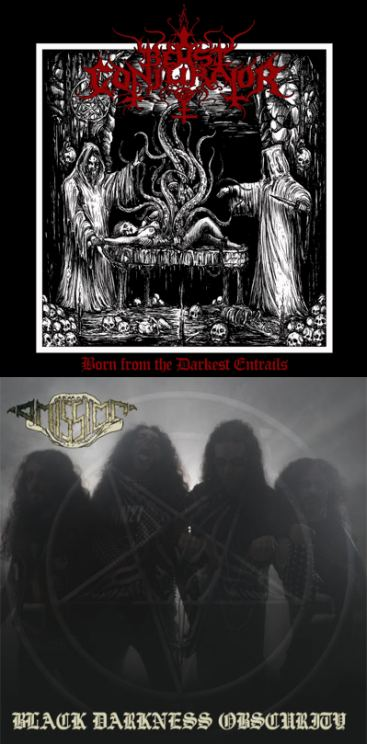 Omission / Beast Conjurator - Authentic Metal Worship Series Vol 2