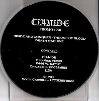 Cianide - Promo 1998