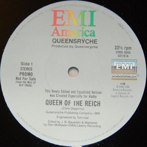 Queensrÿche - Queen of the Reich