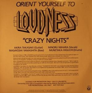 Loudness - Crazy Nights