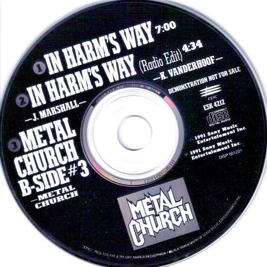 Metal Church - In Harm's Way