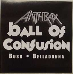 Anthrax - Ball of Confusion