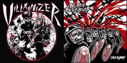 Black Pestilence / Villainizer - Dunerunner / Cyber Disarray