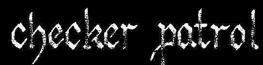 Checker Patrol - Logo