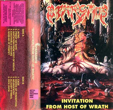 Sparagmos - Invitation from Host of Wrath