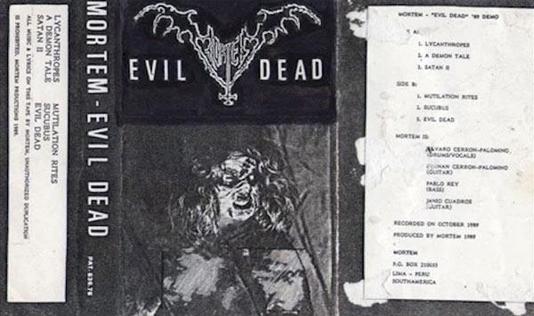 Mortem - Evil Dead