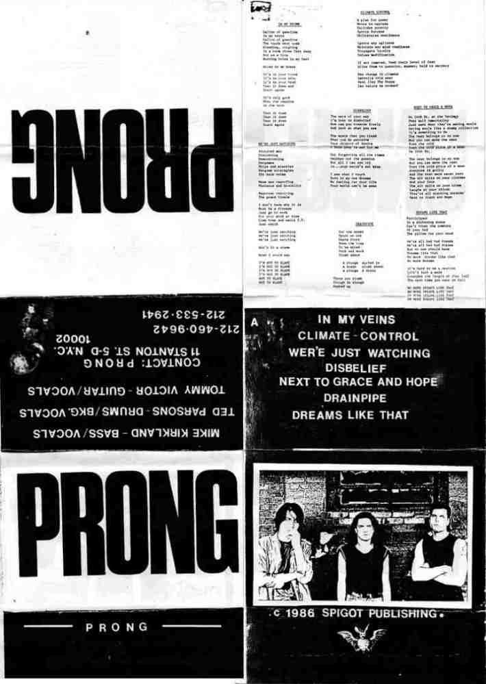 Prong - Demo '86