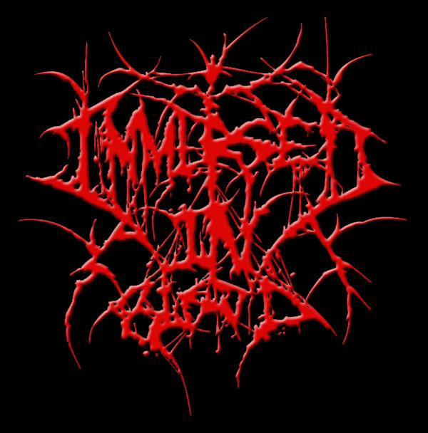 Immersed in Blood - Logo