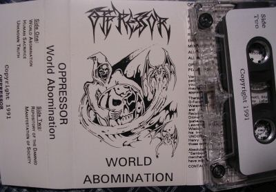 Oppressor - World Abomination